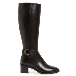 Tory Burch Marsden Leather Heeled Boot NWT 9